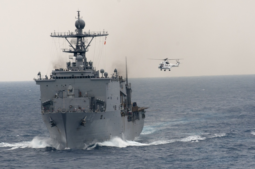 US Navy Amphibious Dock Landing Ship USS Germantown Completes Forward-deployment to Japan