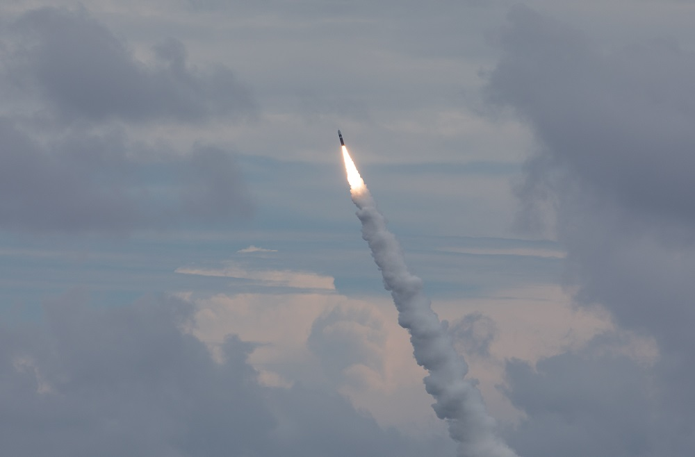 US Navy USS Wyoming (SSBN-742) Successfully Tests Trident II D5LE Missiles