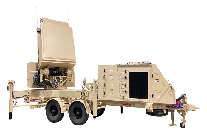 GhostEye MR, a medium-range radar that maximizes the capabilities of the National Advanced Surface-to-Air Missile System, or NASAMS. Raytheon is leveraging the technology baseline and common manufacturing processes of Raytheon's GhostEye, the Lower Tier Air and Missile Defense Sensor (LTAMDS) for the U.S. Army.