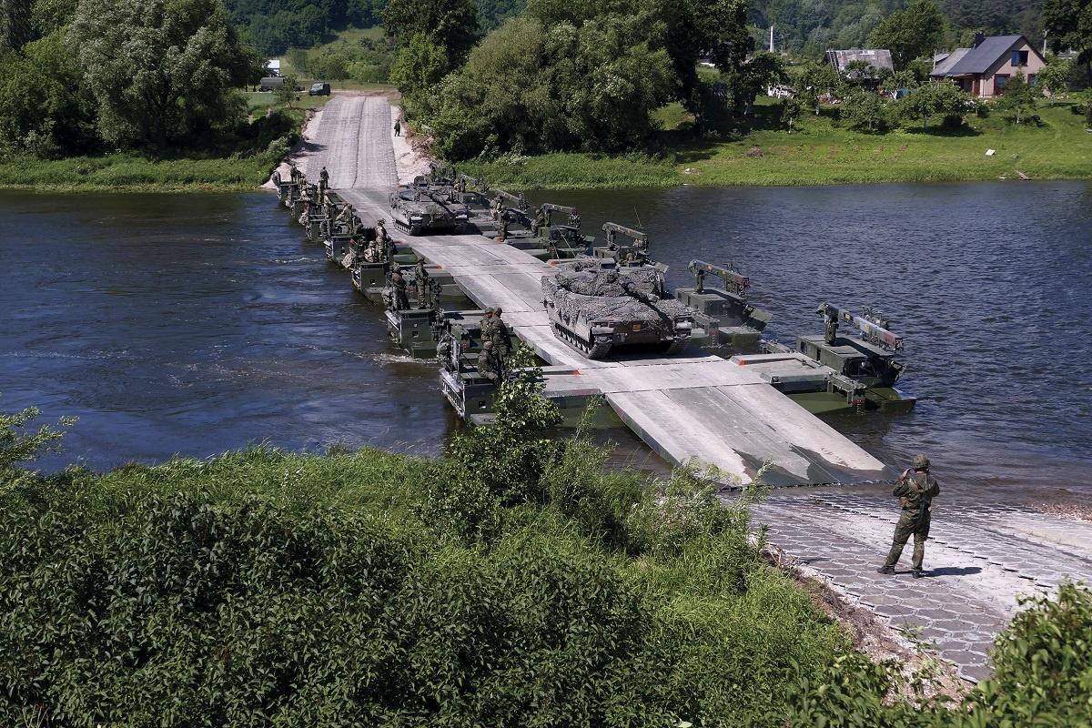 South Korea Selects General Dynamics European Land Systems' M3 Amphibious Bridge & Ferry System
