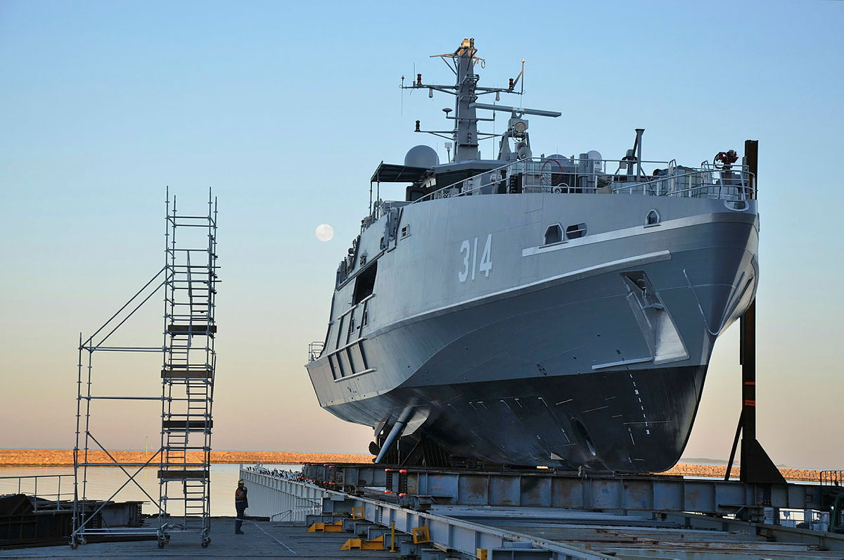 Austal Launches Royal Australian Navy's First Evolved Cape-class Boat