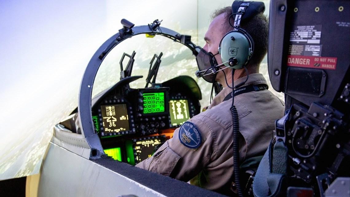 F/A-18 and EA-18G Program Office PMA-265 Conducts Successful SLATE Demo