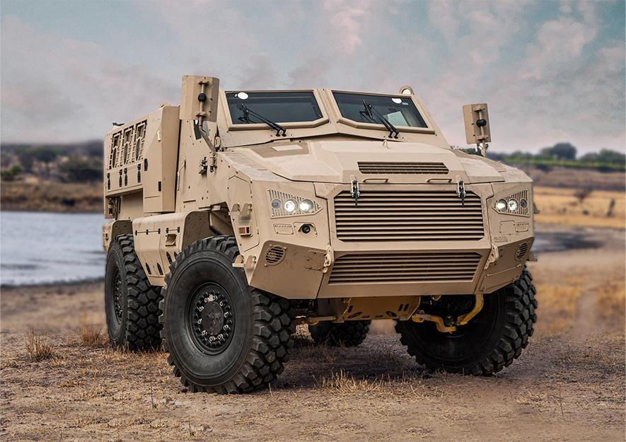 Mbombe 4 Infantry Fighting Vehicle (IFV)