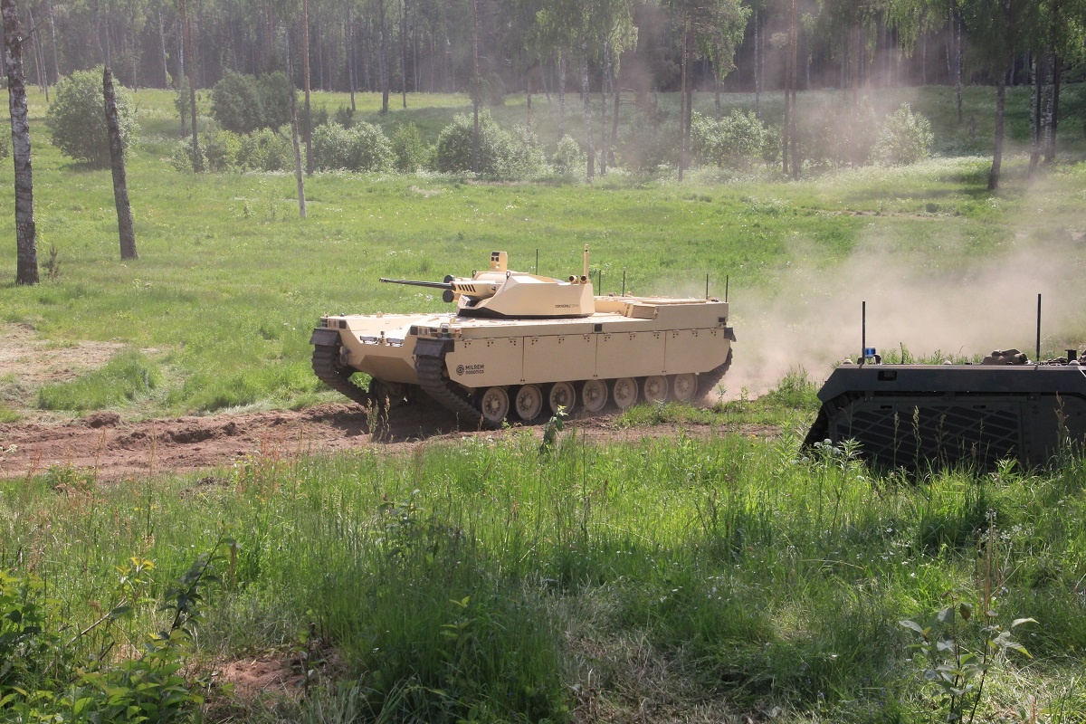 Milrem Robotics and Otokar Teaming To Develop Unmanned and Robotic Systems
