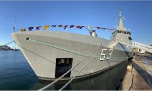 Naval Group Delivers Offshore Patrol Vessel ARA Storni for Argentine Navy