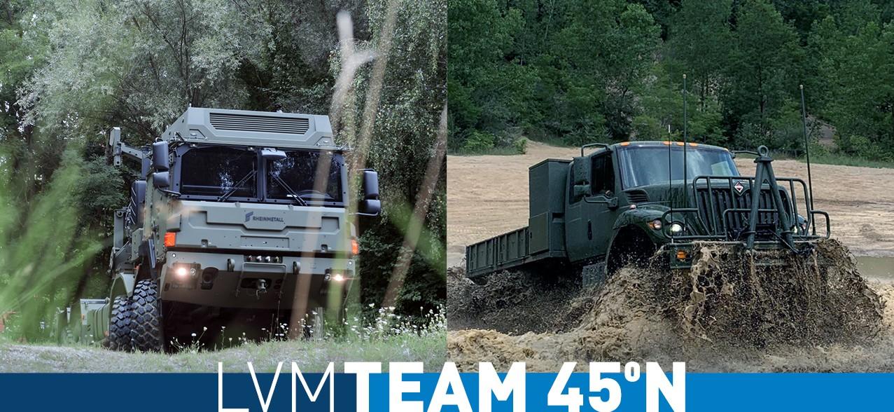 Rheinmetall and Navistar Join Forces in Bid to Win Canada's Logistics Vehicle Modernization (LVM) Project