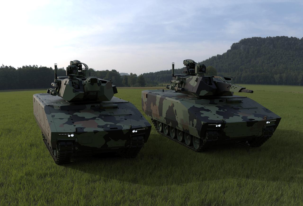 Rheinmetall Unveils Optionally Manned Fighting Vehicle (OMFV)