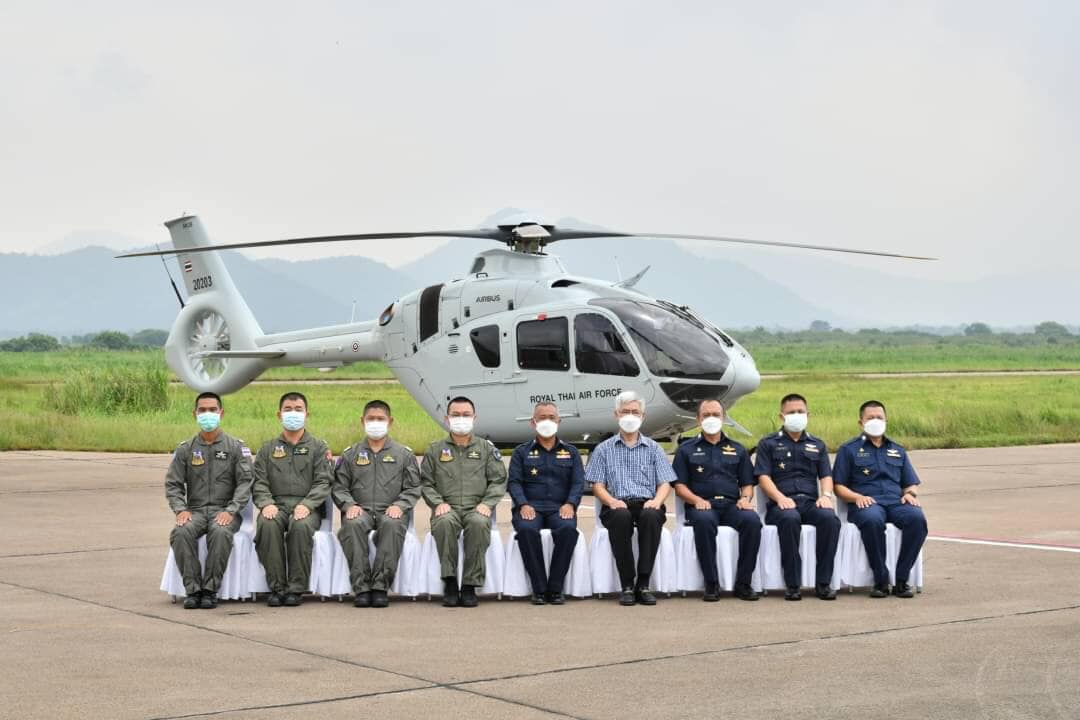 Royal Thai Air Force Begins Operating Airbus H135 Light Training Helicopter