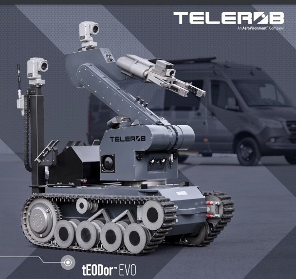 tEODor™ EVO unmanned ground vehicle (UGV)