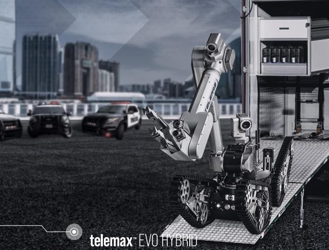 telemax™ EVO HYBRID unmanned ground vehicle (UGV)