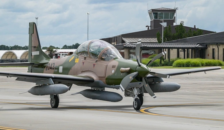 US Air Force 81st Fighter Squadron Says Farewell to Last Nigerian Air Force A-29 Class