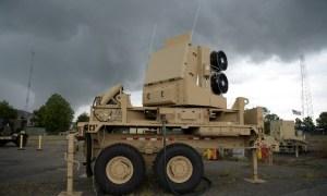 U.S. Army Sentinel A4 Missile Defense Radar