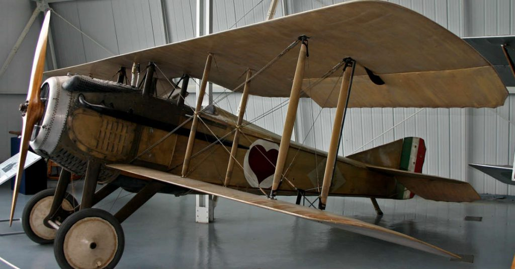 SPAD_S.VII Plane