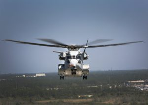 CH-53 Super Stallion Helicopter Front
