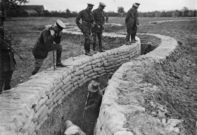 Australian Troops Demonstrate Proper Trench Construction During World War I