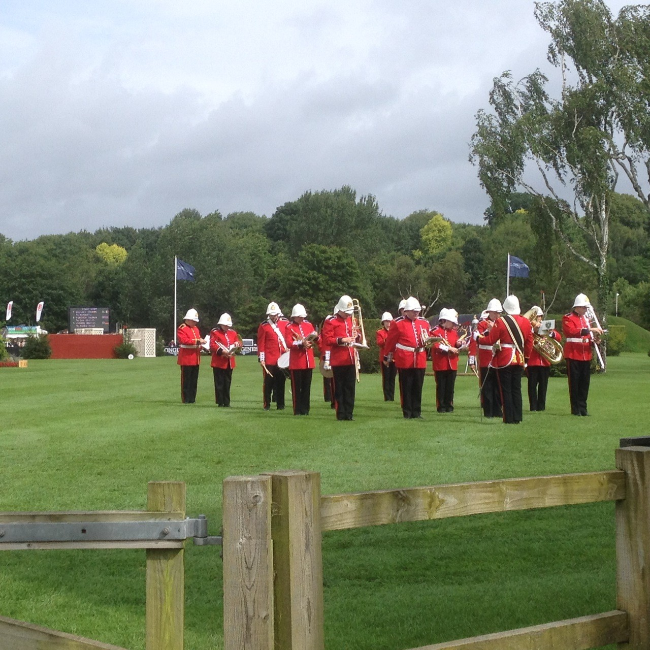 Marching Band Hisktead Horse Show
