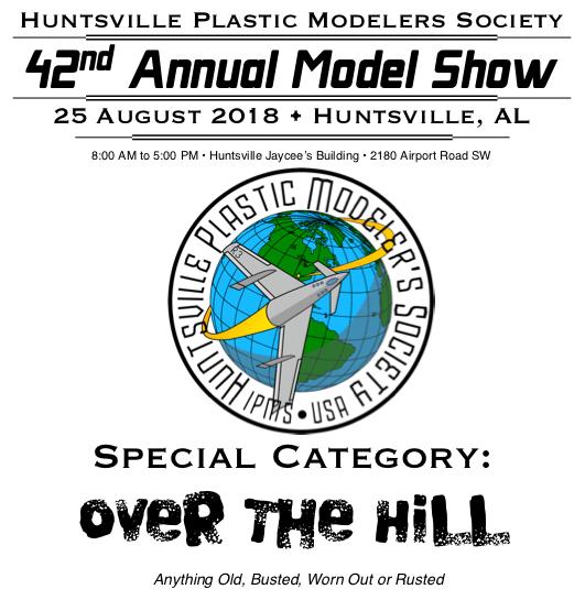 Huntsville Plastic Model Society Show 2018