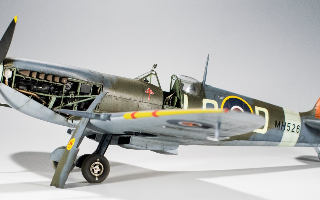 Tamiya's 1/32 Spitfire Mk IX: Build it.