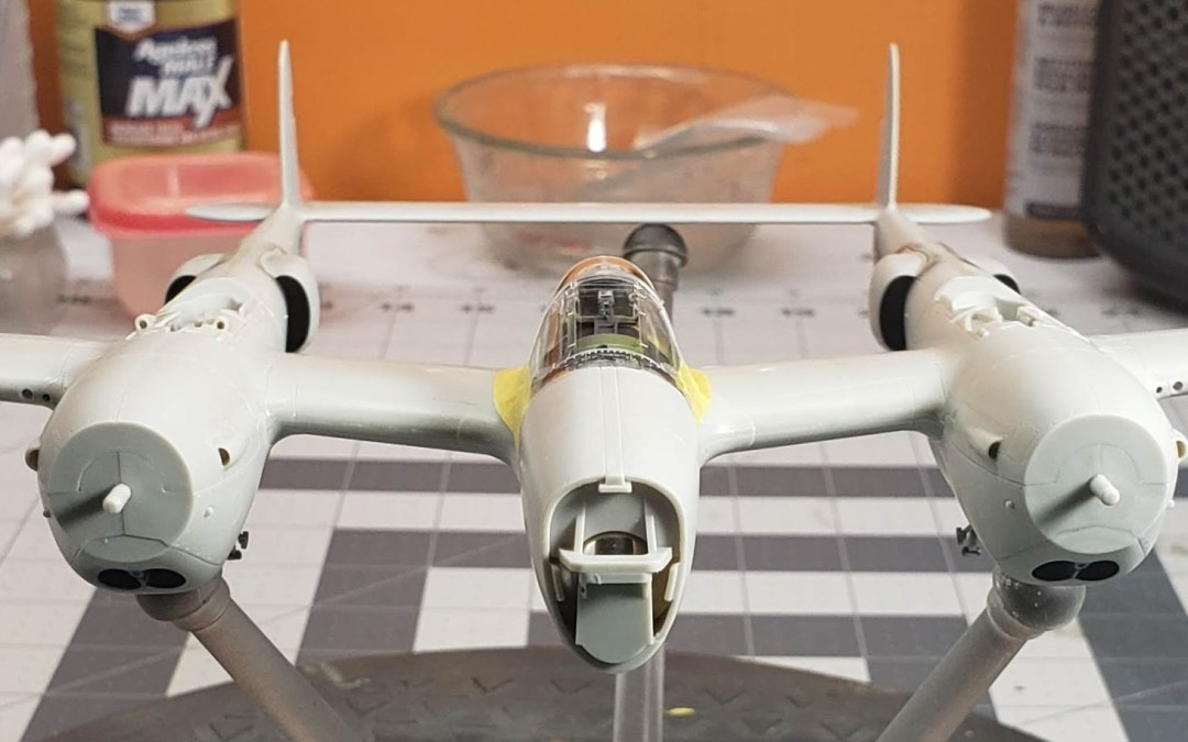 "Tamiya's ""White Box"" 1/48 P-38F/G – First Thoughts, Part 2."