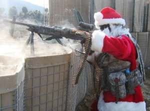 He's gonna find out who's naughty or nice...