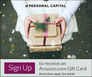Black Friday Weekend: Free $20 Amazon Gift Card When You Sign Up for Personal Capital