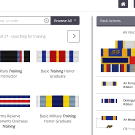 Fast and Easy Military Ribbons: EZ Rack Builder Review