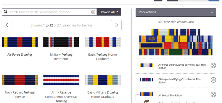 EZ Rack Builder Review: Easy Military Thin Ribbons
