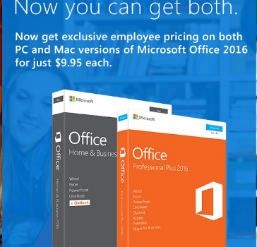 Military Discount Microsoft Office 2016