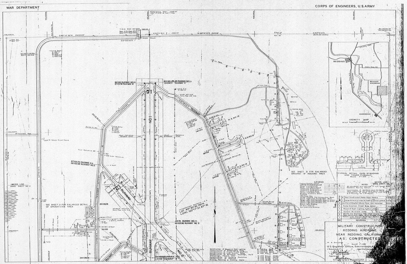 Historic California Posts Redding Army Air Field