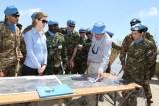 Illustrazione della Blue Line nell'area di operazione di UNIFIL