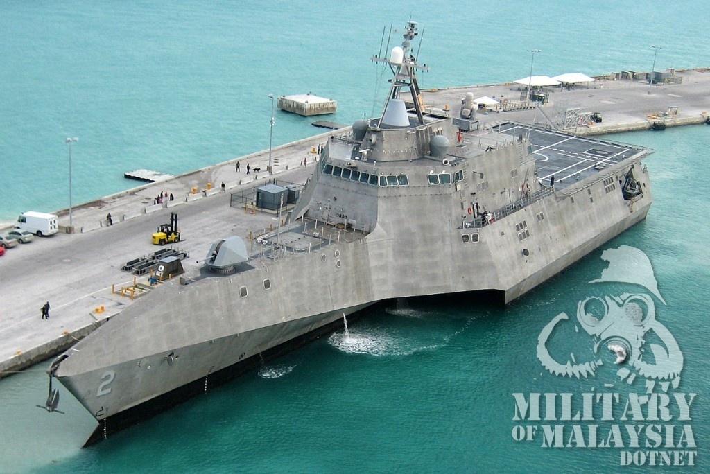 LCS milik US, Gowind Malaysia kecil sedikit dari kapal ini