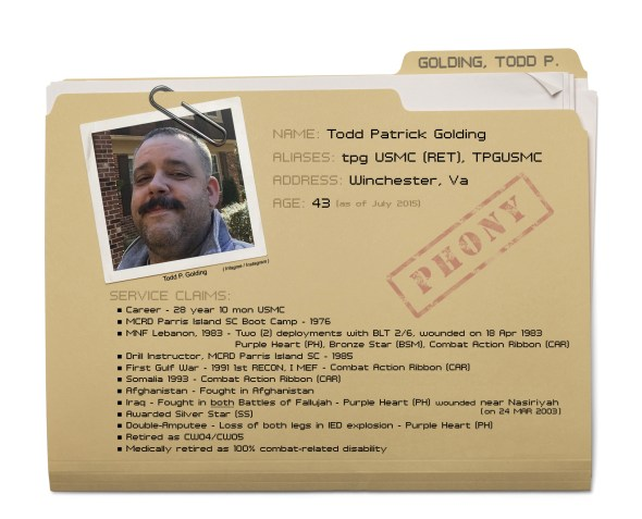 Todd P. Golding - Dossier