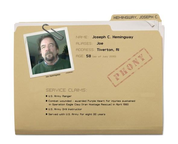 Joe Hemingway - Dossier