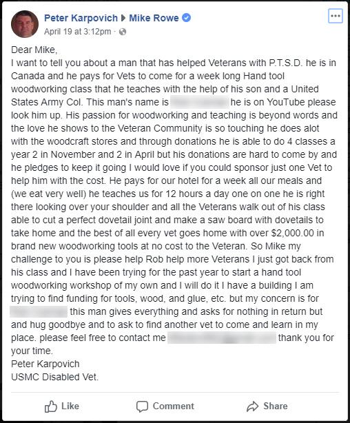 karpovich-USMC Disabled Vet