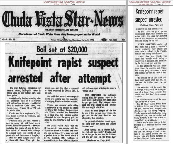 Chula Vista-Franks Rape