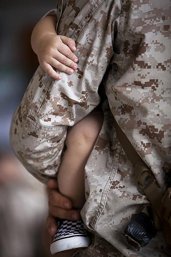 Military Families Use Food Banks