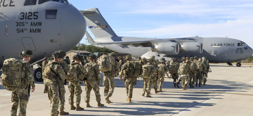 US Rapidly Mobilizes Troops in Response to Increased Middle Eastern Threats
