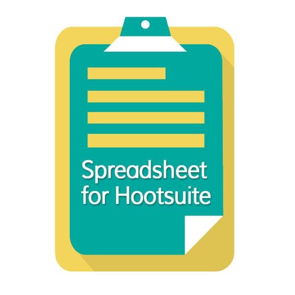 Bulk Upload Excel Spreadsheet for Hootsuite - Career for ...