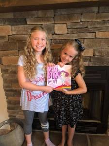 Great Big Move book with Meghan Geary's daughters