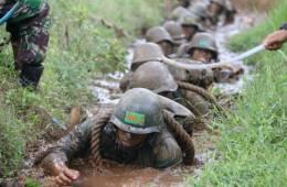 Sifat Prajurit TNI Pantang Menyerah