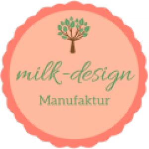Logo der milk-design Manufaktur