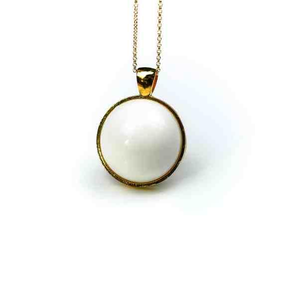 Halskette Rundes Gold
