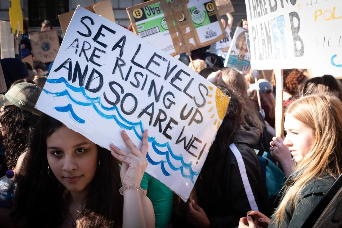 Students across Bath join the 'Youth Strike 4 Climate' global protest