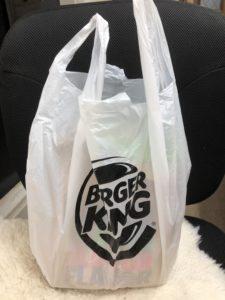 バーガーキング袋