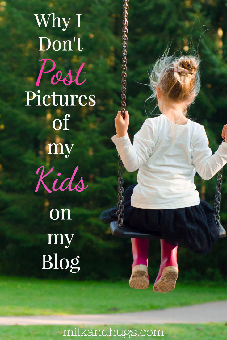 Posting pictures of your kids or family online is a personal choice, but it can be risky. Here is why I won't post pics of my kids on my blog - psst.. this is a stock photo.
