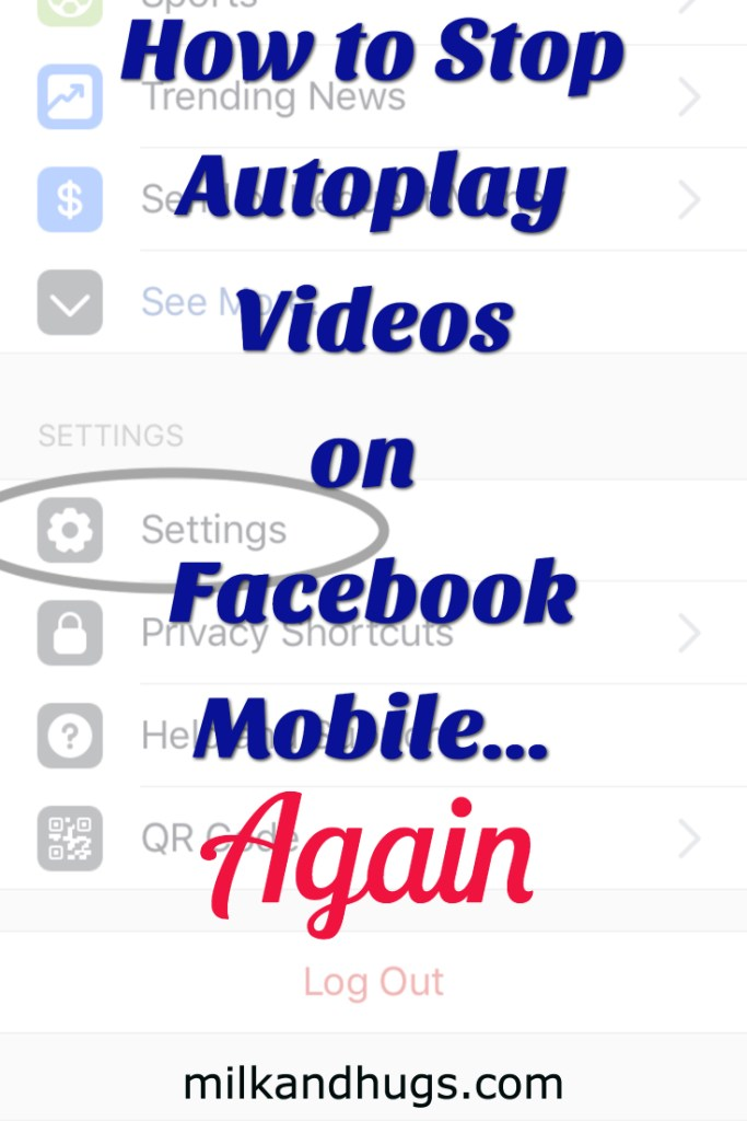 Autoplay Videos on Facebook Mobile getting you down? Here is how to stop them after the recent update #autoplay #facebook