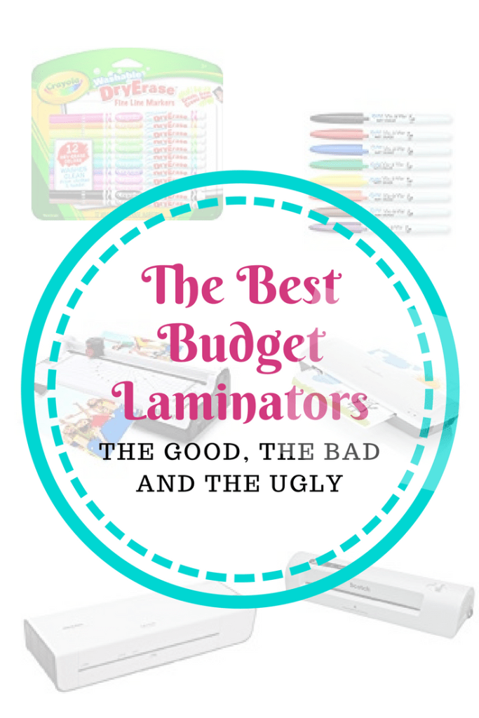 The Best of the Cheapest - Budget Laminators. What can you do with one? Why should you get one? #kids #crafts #scouting #homeschool