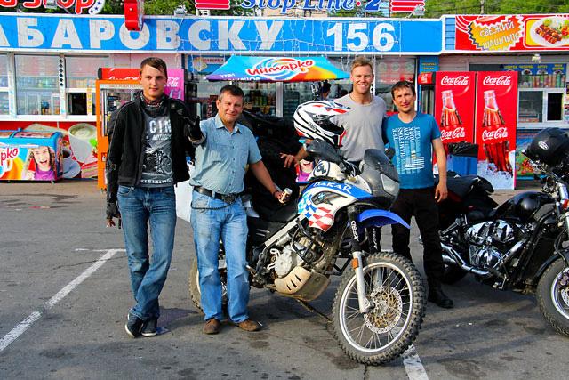 bikers in Khabarovsk Russia