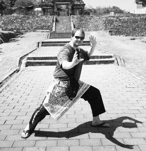 Training Indonesian Martial Arts in Central Java