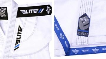 Elite White BJJ GI details